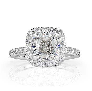 4.11ct Cushion Cut Diamond Engagement Anniversary Ring 2389-1D492262630