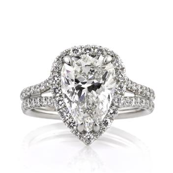 4.66ct Pear Shape Diamond Engagement Anniversary Ring 2871-1D70401215